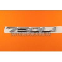 Эмблема (надпись) 750 Li 185x21 мм на багажник BMW