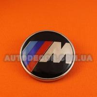 Эмблема BMW M 73 мм полимерная смола