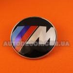 Эмблема BMW M 82 мм полимерная смола