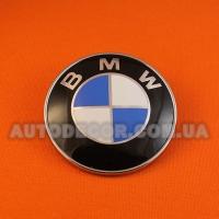 Эмблема BMW 78 мм на капот-багажник