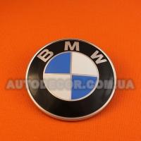 Эмблема BMW 82 мм на капот-багажник