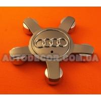 """Колпачки заглушки на литые диски AUDI (140/58/14) """"звезда"""" новая модель 8R0 601 165 серые"""