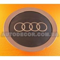"Колпачки заглушки на литые диски AUDI (147/58/18) ""тарелка"" C1039K147 темно-серые"