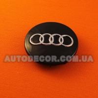 Колпачки заглушки на литые диски AUDI (68/56/10) 8D0 601 170 черные