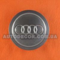 Колпачки заглушки на литые диски AUDI (77/59/14)....5 601 149 графит