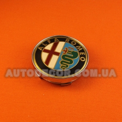 Колпачки заглушки на литые диски Alfa Romeo (60/56/10) MC60N101