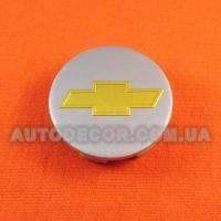 Колпачки заглушки на литые диски Chevrolet (53/48/9) 6106K53