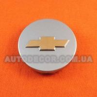 Колпачки заглушки на литые диски Chevrolet (58/53/7)