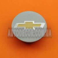 Колпачки заглушки на литые диски Chevrolet (59/46/15) 96682159