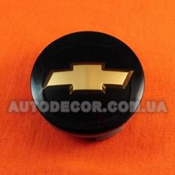 Колпачки заглушки на литые диски Chevrolet (62/56/12) C6029K61 черные