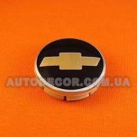 Колпачки заглушки на литые диски Chevrolet (63/60/10) C3003K63 черные