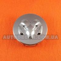 Колпачки заглушки на литые диски Dodge (54/45/14) хром