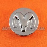 Колпачки заглушки на литые диски Dodge (60/54/12) 769K60 хром