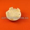 Колпачки заглушки на литые диски Fiat (60/57/11) красный/хром