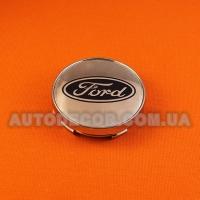 Колпачки заглушки на литые диски Ford (60/56/10) хром MC60N101-h