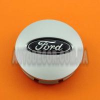 Колпачки заглушки на литые диски Ford (66/58/15) BB53-1A096-RA серебро