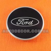 Колпачки заглушки на литые диски Ford (69/51/9) 5128 синие