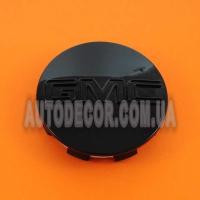 Колпачки заглушки на литые диски GMC (83/76/14) 88963143 черные