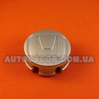 Колпачки заглушки на литые диски Honda (58/55/17) 44732-s5a-0000 серебро