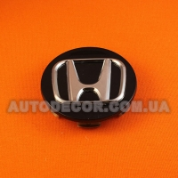 Колпачки заглушки на литые диски Honda (69/64/11) 08w40-swn-9000-02 черный