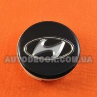 Колпачки заглушки на литые диски Hyundai (59/56/11) черный