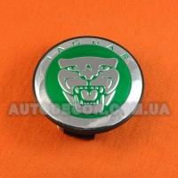 Колпачки заглушки на литые диски Jaguar (59/50/12) aw9m-1a096-ab GREEN