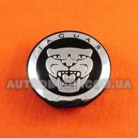 Колпачки заглушки на литые диски Jaguar (59/50/12) PA6M20GF10 BLACK