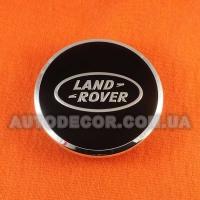 Колпачки заглушки на литые диски Land Rover (63/47/9) AH321A096A-BW черные