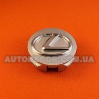 Колпачки заглушки на литые диски Lexus (62/55/20) серебро
