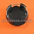 Колпачки заглушки на литые диски Lexus (62/56/19) черные