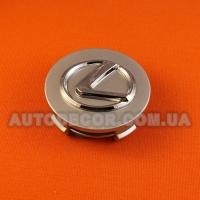Колпачки заглушки на литые диски Lexus (63/57/17)