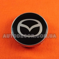 Колпачки заглушки на литые диски Mazda (60/56/10) MC60N101 черные