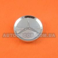 Колпачки заглушки на литые диски Mercedes (64/59/11) хром