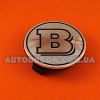 """Колпачки заглушки на литые диски Mercedes """"BRABUS"""" (75/70/16) хромированные"""
