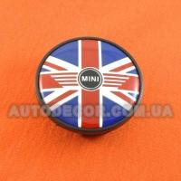 Колпачки заглушки на литые диски Mini (54/44/15) 313-1171-069 флаг
