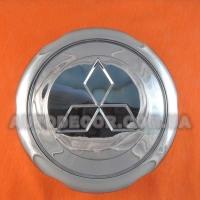 Колпачки заглушки на литые диски Mitsubishi 133 мм хром