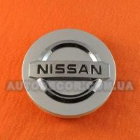 Колпачки заглушки на литые диски Nissan (59/55/7) серые XW0701-3