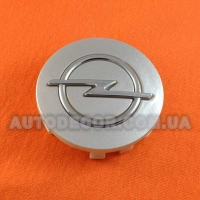 Колпачки заглушки на литые диски Opel (58.5/55.5/11) C5119K59 серебристые