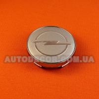 Колпачки заглушки на литые диски Opel (60/56/10)  MC60N101 серебро