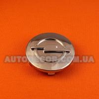 Колпачки заглушки на литые диски Opel (60/56/9) хромированный