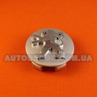 Колпачки заглушки на литые диски Peugeot (60/57/13) серебро/хром