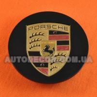 Колпачки заглушки на литые диски Porsche (77/59/14)....5 601 149 черные глянец