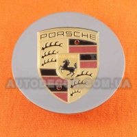 Колпачки заглушки на литые диски Porsche (77/59/14)....5 601 149 хром