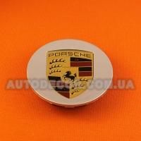 Колпачки заглушки на литые диски Porsche (77/59/14)....5 601 149A серебро