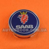 Колпачки заглушки на литые диски SAAB (60/56/10)