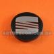 Колпачки заглушки на литые диски Seat 57/52/7 мм 5JA601151A черный глянец
