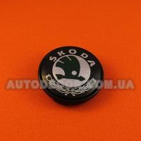 Колпачки заглушки на литые диски Skoda (56/52/7) 1J0 601 171