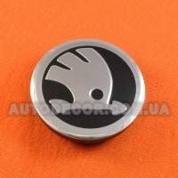Колпачки заглушки на литые диски Skoda (56/52/7) 5JA601151A