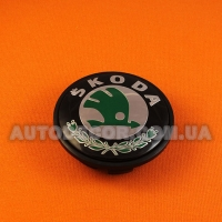 Колпачки заглушки на литые диски Skoda (65/56/12) 3B7 601 171