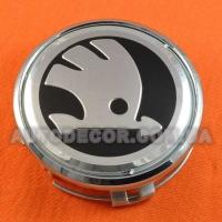 Колпачки заглушки на литые диски Skoda (75/70/16) для дисков Mercedes